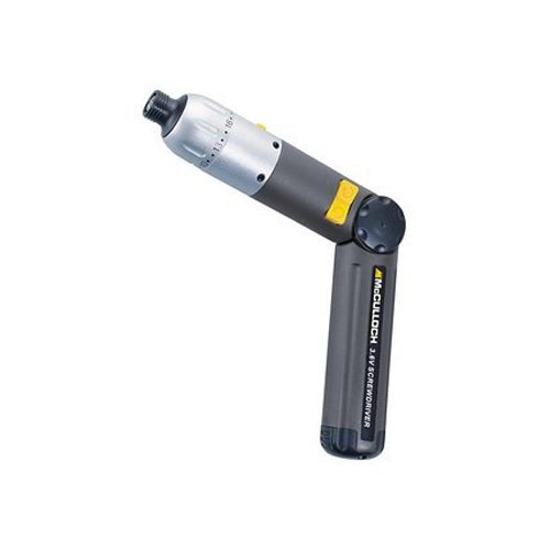 McCulloch MS6024 3.6 Volt 2 Speed Cordless Screwdriver Drill