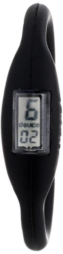 Deuce Brand Women's DBBLKS The Original Silicone Rubber Sports Black 16cm Watch image