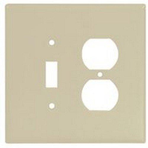 10/PACK COOPER WIRING 2148V-BOX 2G JUMBO TGL/DUPL RECPT PLATE cooper