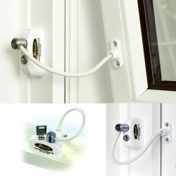 Jackloc Window Safety Restrictor (White) - 5 Pack