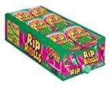 Rip Rolls Sour Watermelon Candy, 24 Count Display Box