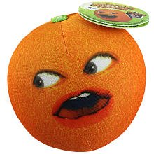 Annoying Orange Series 1 3.5 inch Talking Whoa Orange Plush - 1
