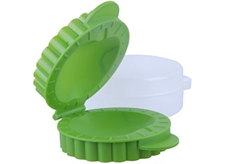 Apple Shaped Mini Pocket Pie Mold 6.1 x 5.2 x 2.1 inches - Petite Hand Pies Small - Green (Meat Pies Molds compare prices)