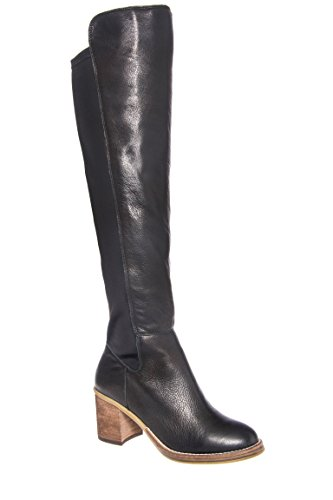 Emma Mid Heel Knee High Boot