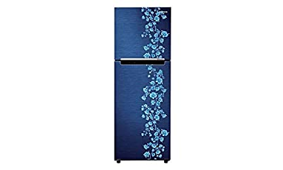 Samsung RT27JARMAPX/TL Frost-free Double-door Refrigerator (253 Ltrs, 3 Star Rating, Orcherry Pebble Blue)