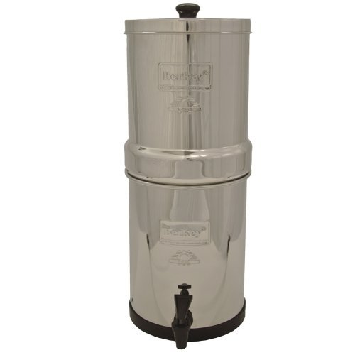 Imperial-Berkey-Water-Filter-With-2-Black-and-2-PF2-Fluoride-Filters