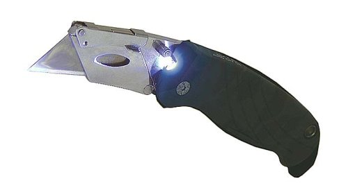Sheffield 12132 Lighted Camouflage Utility Knife