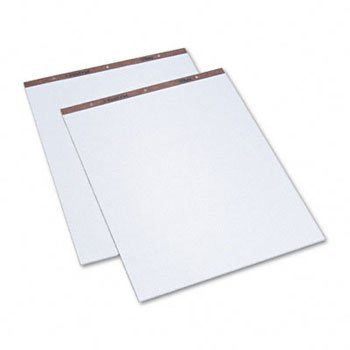 New-TOPS 7903 - Easel Pads, Unruled, 27 x 34, White, 50-Sheet Pads, 2 Pads/Carton - TOP7903