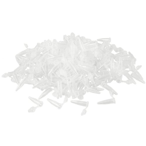 uxcell 1000 Pcs Laboratory Clear White Mark Printed Plastic Centrifuge Tube 0.5ml (Laboratory Centrifuge Tubes compare prices)