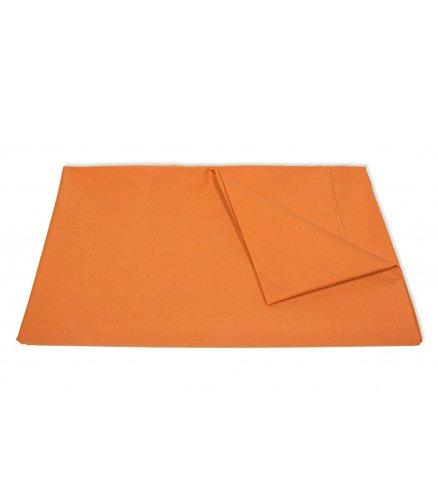 Federa di 100% puro cotone percalle, 80fili-43x 210cm, Arancione