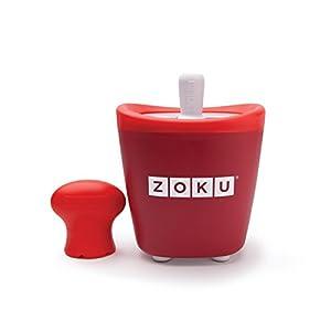 Zoku Single Quick Pop Maker, Red