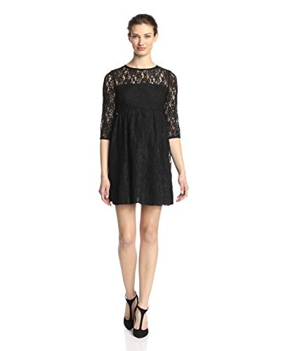 A.B.S. by Allen Schwartz Women's Babydoll Lace Dress