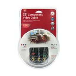 GE Lighting 25′ Ultra Pro Component Video Cable image