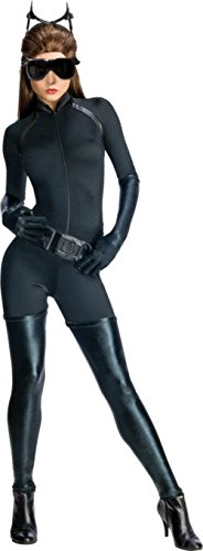 Rubies Womens Dark Knight Rises Secret Wishes Catwoman Halloween Themed Costume