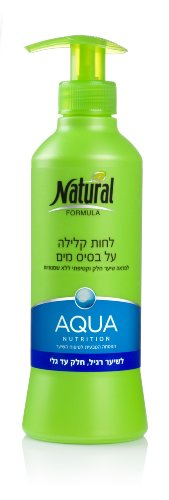 Natural Formula Aqua Hair Moisturizer for Normal and Long, Silky Hair