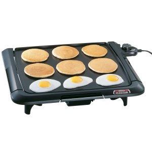 National Presto Indistries, Presto 07045 Electric Griddle (Catalog Category: Small Appliances & Housewares / Home Appliances)