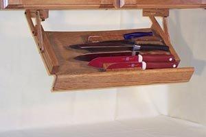 ultimate kitchen storage under cabinet knife rack kitchen dining. Black Bedroom Furniture Sets. Home Design Ideas