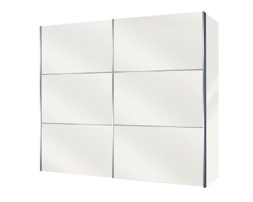 Solutions 46250-195 Schwebetürenschrank 250 x 216 x 68 cm / weiß
