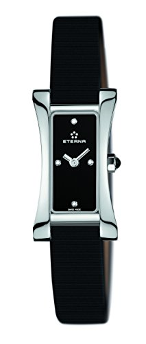 Eterna Sahida Women's Quartz Watch  Black Dial
