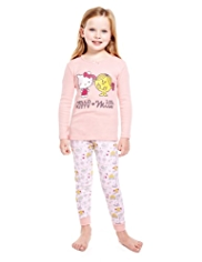 Pure Cotton Hello Kitty & Little Miss™ Sunshine Pyjamas