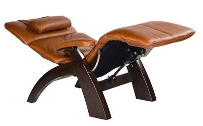 The Human Touch Power Electric Recline Perfect Chair Recliner Silhouette  PC75 / PC 075 Walnut