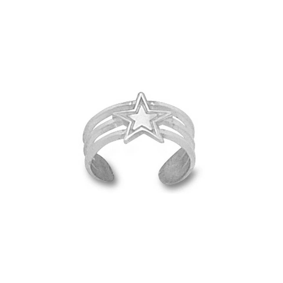 Dallas Cowboys NFL Sterling Silver Toe Ring  Sports Fan Rings  Sports & Outdoors