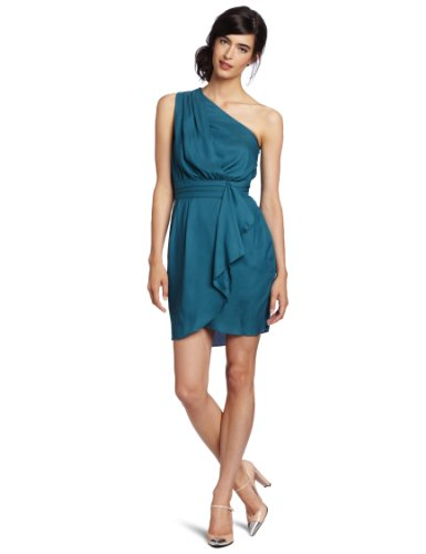 BCBGeneration Women&#x27;s Pleat Flounce Dress