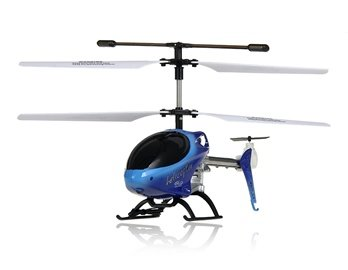 UdiRC U2 3.5-Channel RC Mini Alloy Helicopter (Blue)