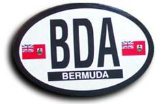 Bermuda - Oval decal - Buy Bermuda - Oval decal - Purchase Bermuda - Oval decal (Flagline.com, Home & Garden,Categories,Patio Lawn & Garden,Outdoor Decor,Banners & Flags)