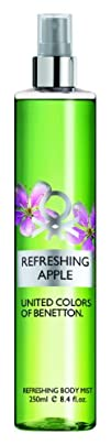 United Colors of Benetton Body Mist Refreshing Apple 8.4 Ounce