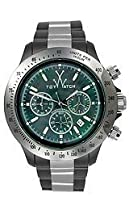 Toy Watch Heavy Metal Plasteramic Silver Black Chronograph Unisex watch #11207-SL