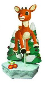Rudolph the Red-Nosed Reindeer Talking Action Figure
