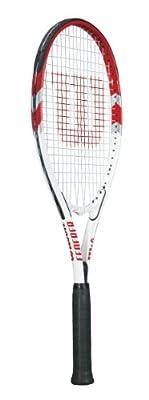 Wilson Federer Adult Strung Tennis Racket, 4 3/8