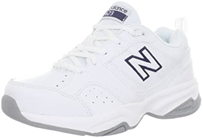 New Balance Women's Wx623 Cross Training Shoe,White,5 D US
