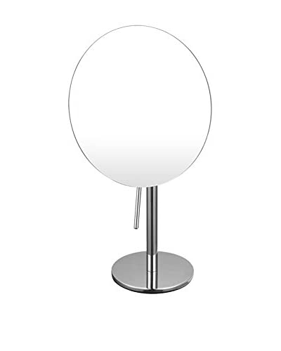 Nameek's Glimmer Single Sided 3X Makeup Mirror, Chrome As You See