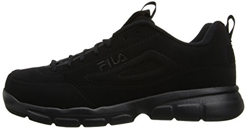 Fila Men's Disruptor SE Training Shoe, Triple Black, 9.5 M US