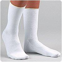 Pressurelight pressure relieving diabetic socks provides extra padding