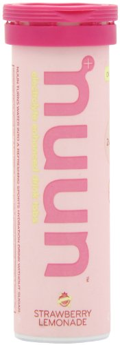 NUUN Active Hydration Drink Tabs Strawberry Lemonade - 12 Tablets Each / Pack of 8