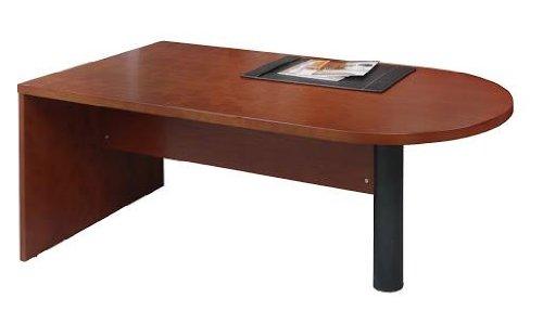 Peninsula Desk Returnbridge Supported Medium Cherry