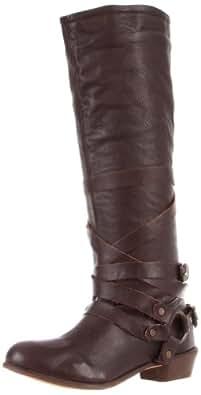 Naughty Monkey Women's Desperado Boot,Chocolate,6 M US