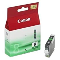 Canon CLI-8 G Cartouche d'encre d'origine  séparée Verte (version boîte) pour Pixma Pro