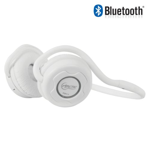 ARCTIC P311-White Bluetooth Headset with integrated microphone for smart phones, MP3 and computers (HEASO-ERM42-GBA01)