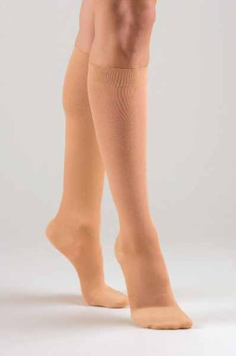 FLA Activa Sheer Therapy Knee High 15-20 mmHg Closed Toe Size B - NudeB0000ZSIWW : image
