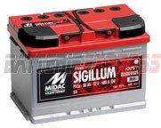 Autobatterie Midac Sigillum S1 12V 55Ah 480A