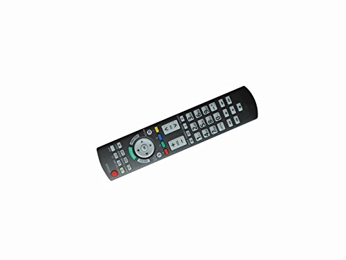 Universal Replacement Remote Control For Panasonic Th-37Pwd8Gk Th-42Pf11Uk Eur646539 Pt-42Pd4P Viera Lcd Led Plasma Hdtv Tv