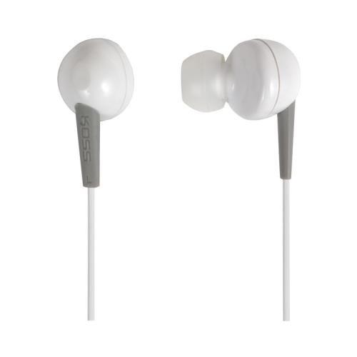 Koss 183848 Keb6 Earbuds (White) (Koss 183848)