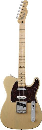 Fender フェンダーUSA デラックス ナッシュビル テレキャスター ハニーブロンド Deluxe Nashville Telecaster Electric Guitar, Maple Fingerboard - Honey Blonde[並行輸入]