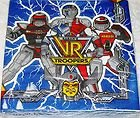 16 Vintage (1994) VR Troopers Luncheon Napkins (12.78 In Sq.) Saban's