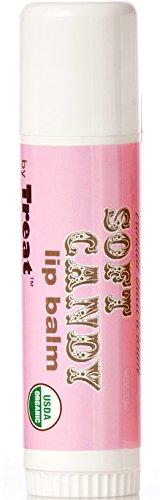 Treat Jumbo Organic Lip Balm, Soft Ca…