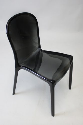 Designed by simply Patrick Jouin the particular Kartell Thalya seat brings together simplicity as well as powerful ... enticing easy chair with the pure ... & Kartell Thalya Style Chair (Transparent Black) Full Compass ...
